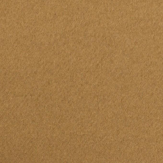 ウール×無地(イエローオーカー)×ビーバー イメージ1