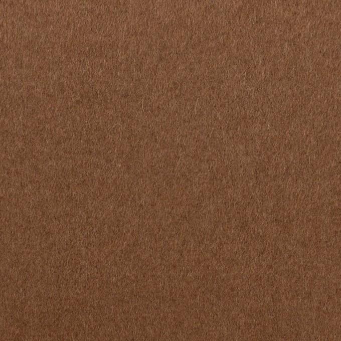 ウール×無地(マロン)×ビーバー イメージ1