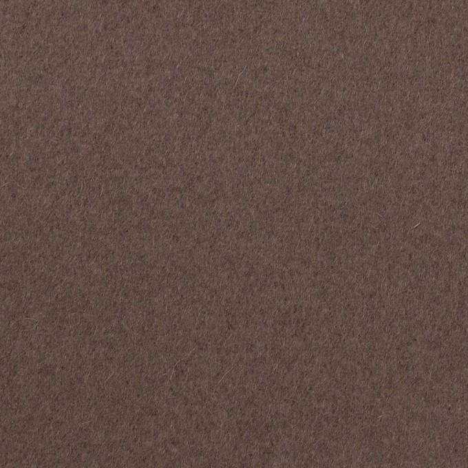 ウール&ナイロン×無地(アッシュブラウン)×フラノ(フランネル) イメージ1
