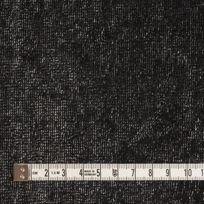レーヨン&コットン×ミックス(シルバー&ブラック)×ベルベット イメージ4