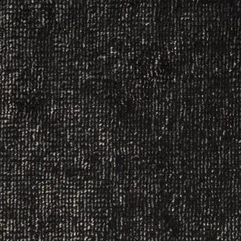 レーヨン&コットン×ミックス(シルバー&ブラック)×ベルベット