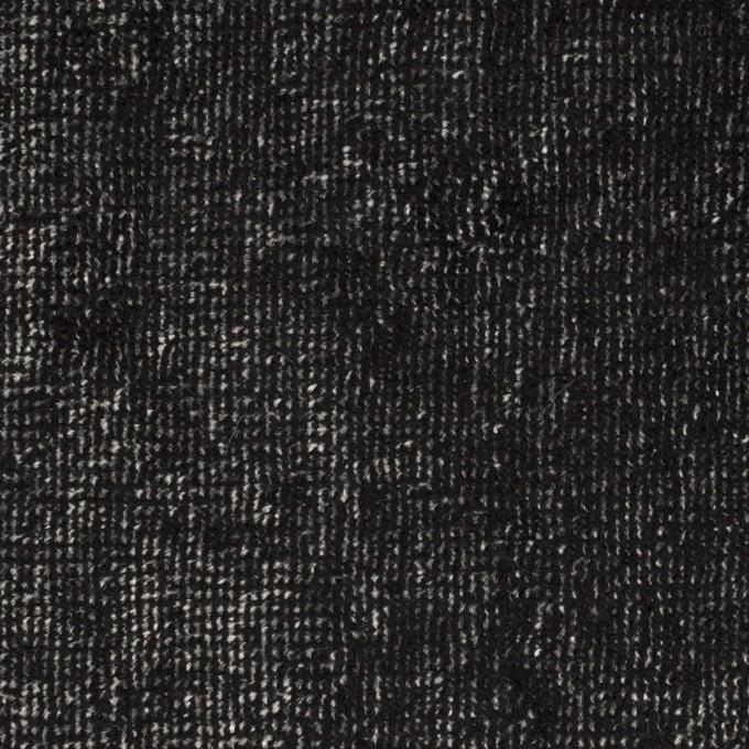 レーヨン&コットン×ミックス(シルバー&ブラック)×ベルベット イメージ1