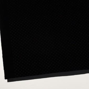 ポリエステル×ドット(ブラック&ゴールド)×ベロアニット_全2色 サムネイル2