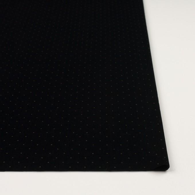 ポリエステル×ドット(ブラック&ゴールド)×ベロアニット_全2色 イメージ3