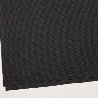 ポリエステル&レーヨン混×チェック(グレー&ブラック)×千鳥格子ストレッチ サムネイル2