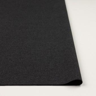 ポリエステル&レーヨン混×チェック(グレー&ブラック)×千鳥格子ストレッチ サムネイル3