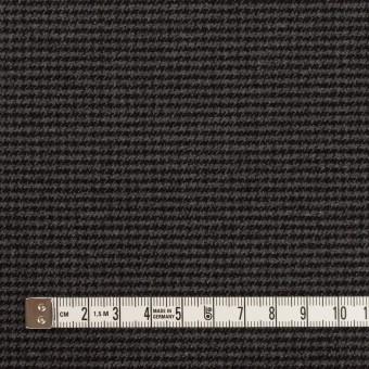ポリエステル&レーヨン混×チェック(グレー&ブラック)×千鳥格子ストレッチ サムネイル4