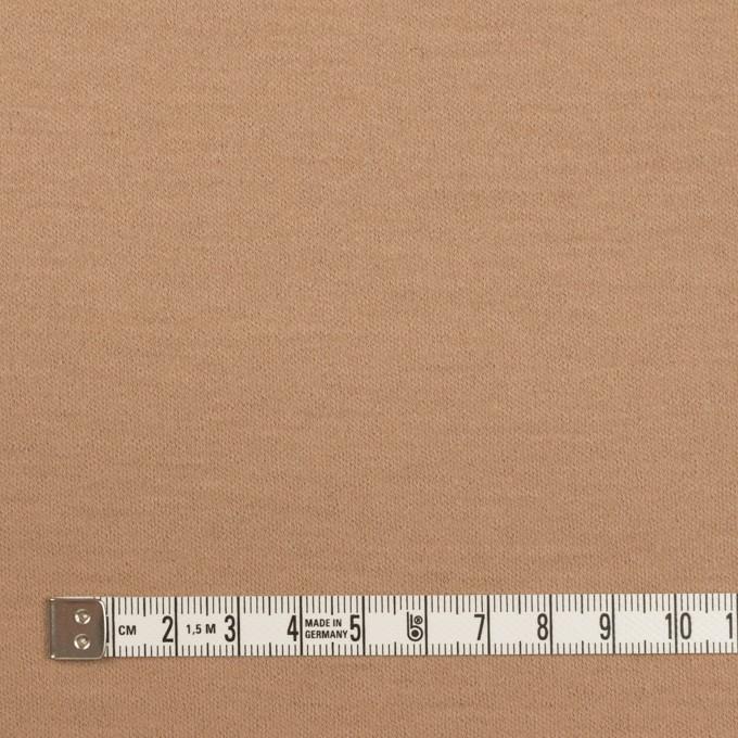 ウール×無地(ベージュ)×圧縮ニット イメージ4