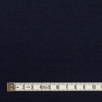 ウール×無地(ネイビー)×天竺ニット_全2色 サムネイル4