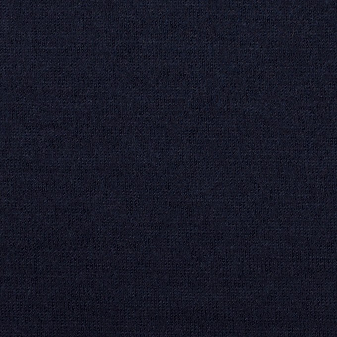 ウール×無地(ネイビー)×天竺ニット_全2色 イメージ1