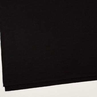 ウール×無地(ブラック)×天竺ニット_全2色 サムネイル2