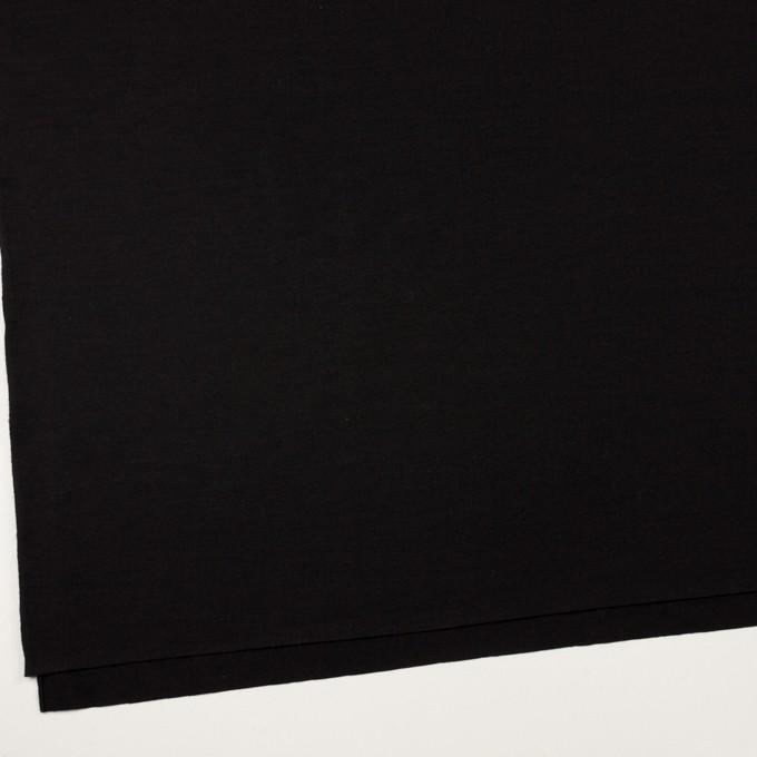 ウール×無地(ブラック)×天竺ニット_全2色 イメージ2