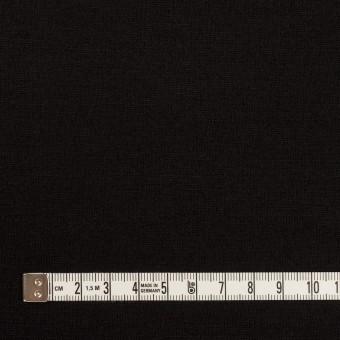 ウール×無地(ブラック)×天竺ニット_全2色 サムネイル4