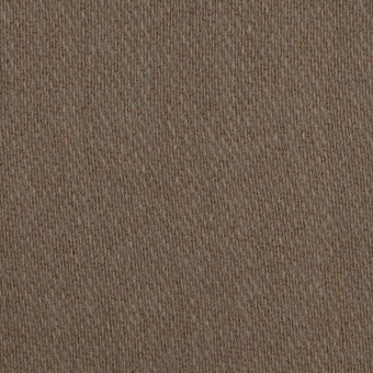 ウール&アクリル混×無地(モカブラウン)×かわり織_全2色