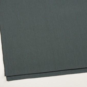 ウール&アクリル混×無地(スレートブルー)×かわり織_全2色 サムネイル2
