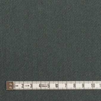 ウール&アクリル混×無地(スレートブルー)×かわり織_全2色 サムネイル4