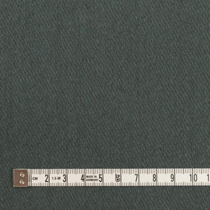 ウール&アクリル混×無地(スレートブルー)×かわり織_全2色 イメージ4