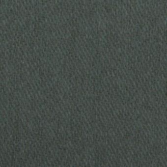 ウール&アクリル混×無地(スレートブルー)×かわり織_全2色