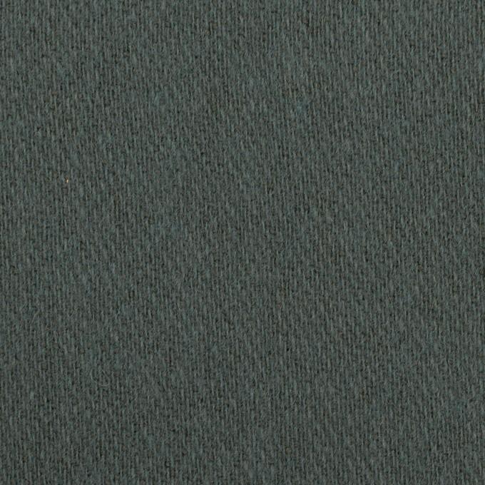 ウール&アクリル混×無地(スレートブルー)×かわり織_全2色 イメージ1