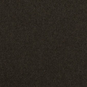 ウール×無地(ディープグリーン)×Wフェイス・フラノ