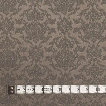 ポリエステル&コットン混×幾何学模様(アッシュカーキ)×サテンジャガード・ストレッチ サムネイル4