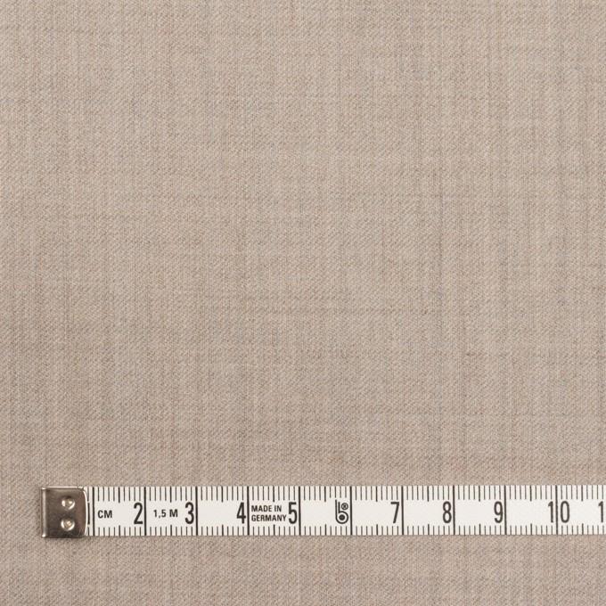 ウール&ポリウレタン×無地(オートミール)×サージストレッチ イメージ4