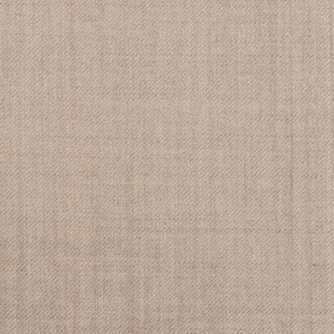 ウール&ポリウレタン×無地(オートミール)×サージストレッチ イメージ1
