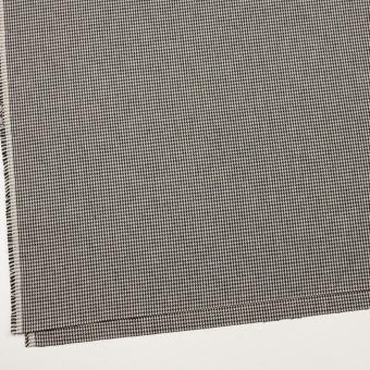 コットン×チェック(アイボリー&ブラック)×千鳥格子 サムネイル2