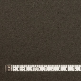 ウール×無地(アッシュカーキグリーン)×圧縮ニット サムネイル4
