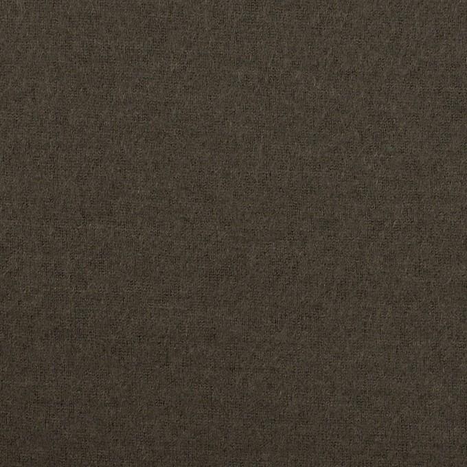 ウール×無地(アッシュカーキグリーン)×圧縮ニット イメージ1