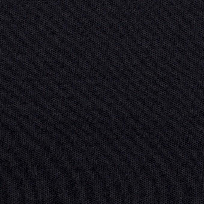 ウール×無地(ダークネイビー)×スムースニット イメージ1