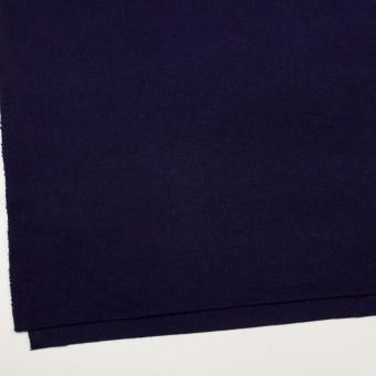 ウール&アンゴラ混×無地(プルシアンブルー)×リブニット サムネイル2