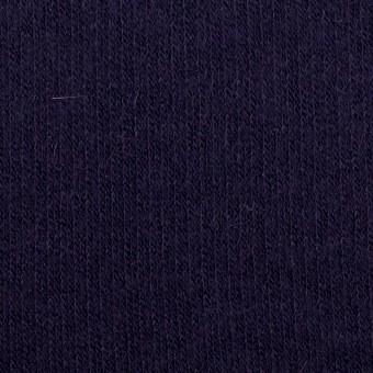 ウール&アンゴラ混×無地(プルシアンブルー)×リブニット