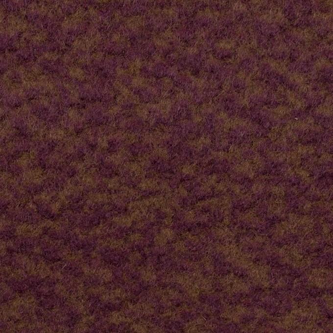 ウール×ミックス(ワイン&ジンジャー)×かわり織 イメージ1