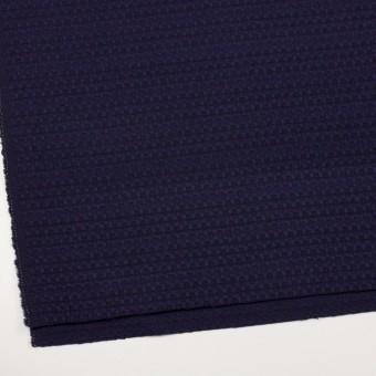 ウール×ミックス(バイオレット&ブラック)×かわり織 サムネイル2