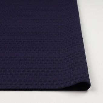 ウール×ミックス(バイオレット&ブラック)×かわり織 サムネイル3