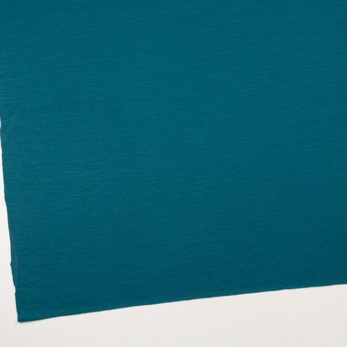 ウール×無地(ターコイズブルー)×天竺ニット イメージ2