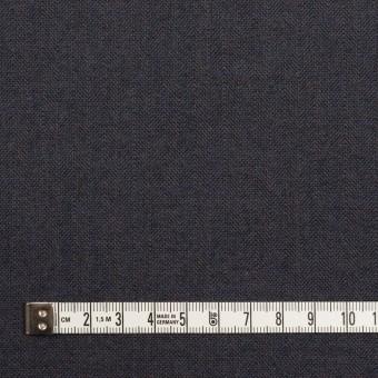 コットン&ポリウレタン×無地(アッシュネイビー)×ヘリンボーン_イタリア製 サムネイル4