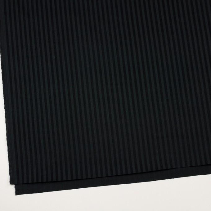 コットン×ストライプ(ブラック)×ビエラジャガード イメージ2
