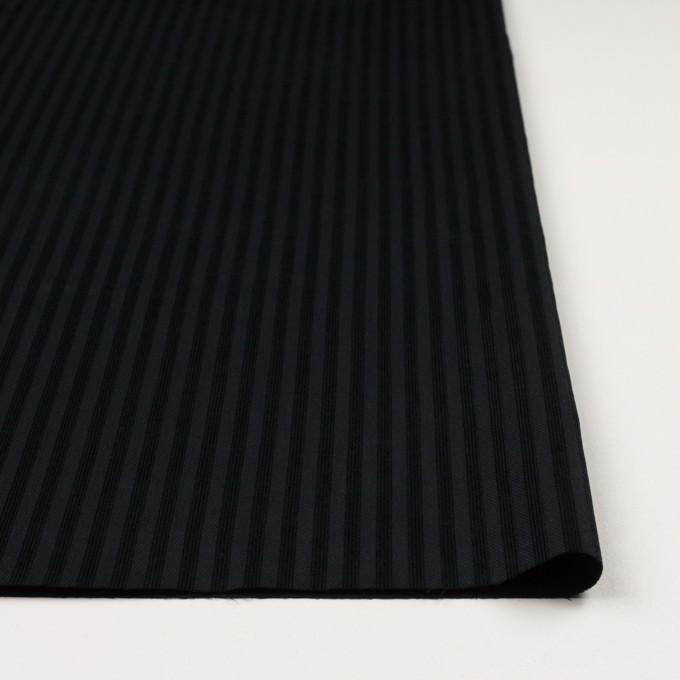 コットン×ストライプ(ブラック)×ビエラジャガード イメージ3