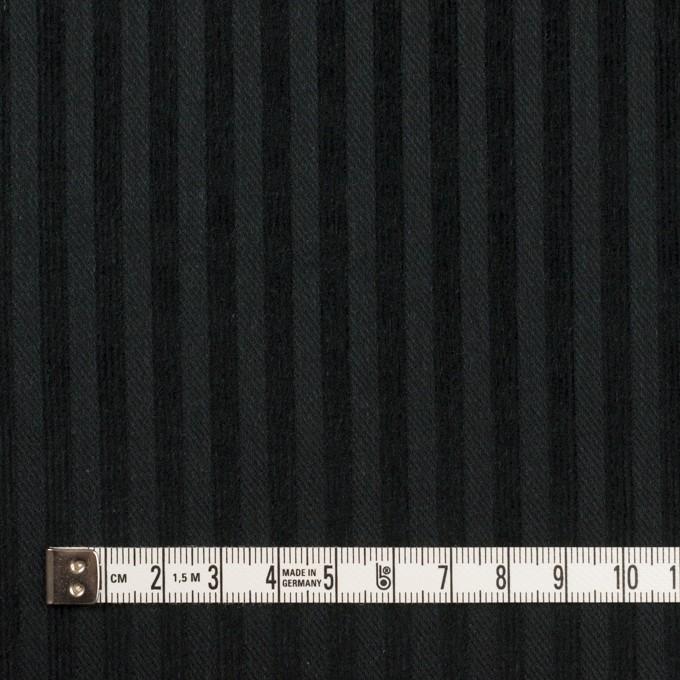 コットン×ストライプ(ブラック)×ビエラジャガード イメージ4