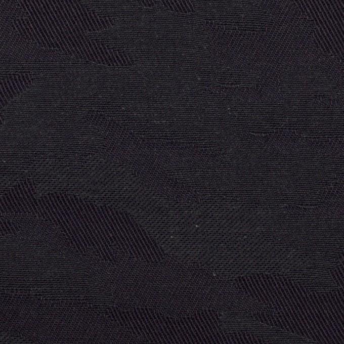 コットン×迷彩(ダークネイビー)×ジャガード イメージ1