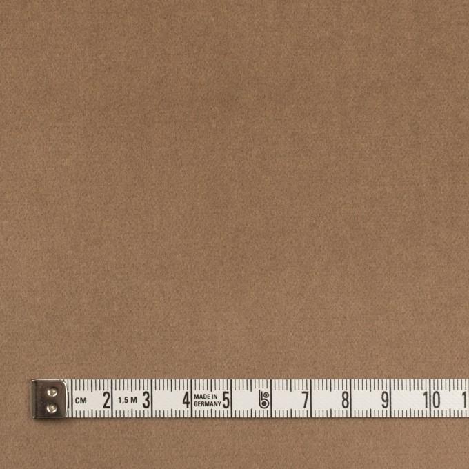コットン&ポリウレタン×無地(オークルベージュ)×ベッチンストレッチ イメージ4