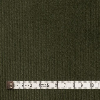 コットン&ポリウレタン×無地(ディープグリーン)×中コーデュロイ・ストレッチ サムネイル4
