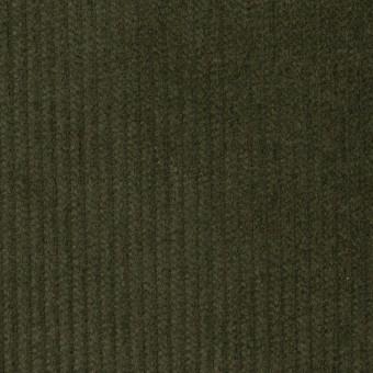 コットン&ポリウレタン×無地(ディープグリーン)×中コーデュロイ・ストレッチ