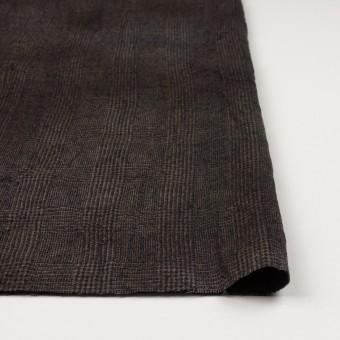 ウール×チェック(カーキ&ブラック)×ツイードワッシャー サムネイル3
