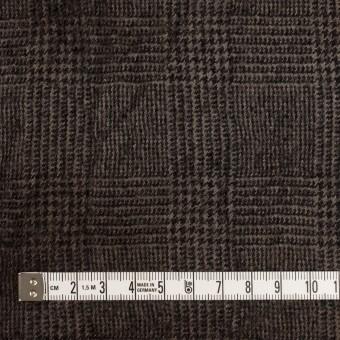 ウール×チェック(カーキ&ブラック)×ツイードワッシャー サムネイル4