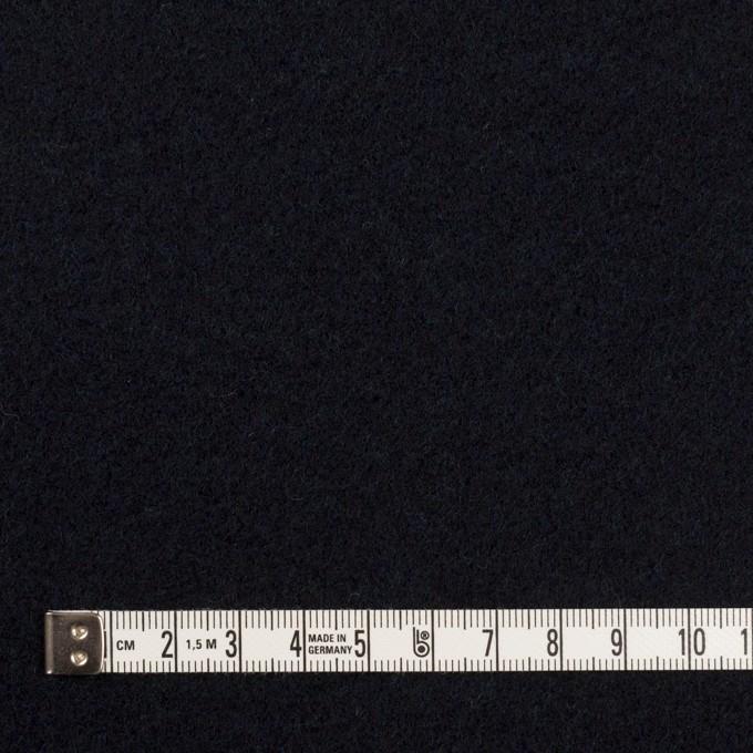 ウール×チェック&無地(ブラックウォッチ&ダークネイビー)×カルゼ&フラノ(Wフェイス) イメージ6