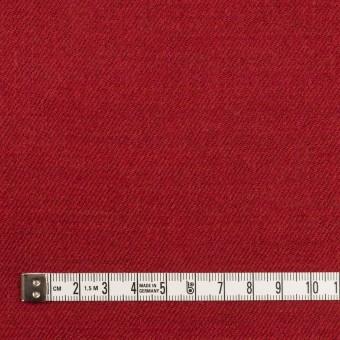 ウール&コットン×無地(バーガンディーレッド)×ビエラ_全2色 サムネイル4