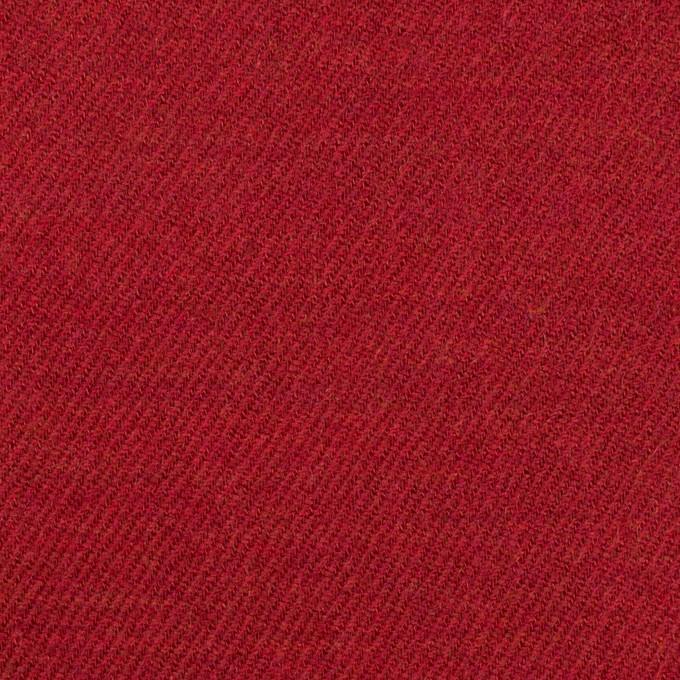ウール&コットン×無地(バーガンディーレッド)×ビエラ_全2色 イメージ1